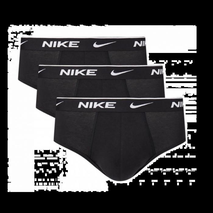 Nike 3-pack slips heren - zwart