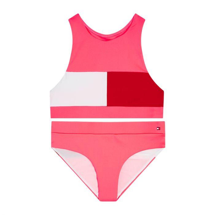 Tommy Hilfiger bikini meiden - watermelon pink