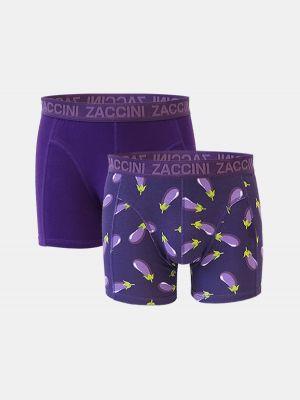 Zaccini 2-pack aubergine