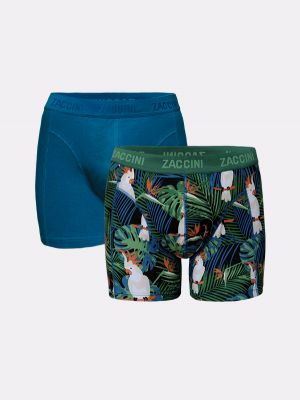 Zaccini 2-pack boxershorts tropical forest