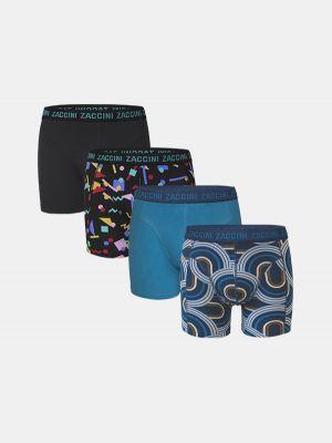 Zaccini 4-pack boxershorts retro