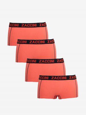 Zaccini 4-pack dames boxershorts emberglow