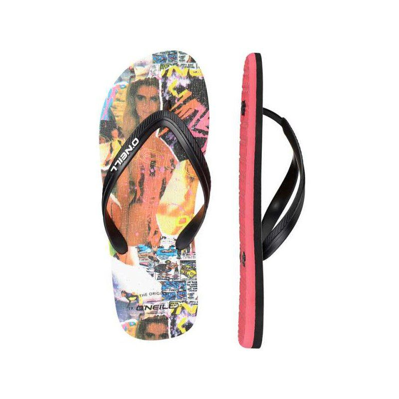 O'Neill flip-flops  logo