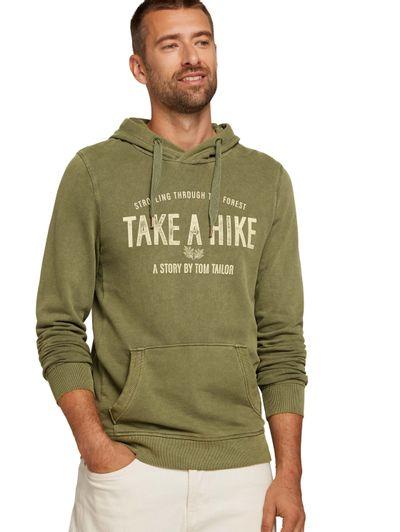 Foto van Tom Tailor heren hoodie sweater