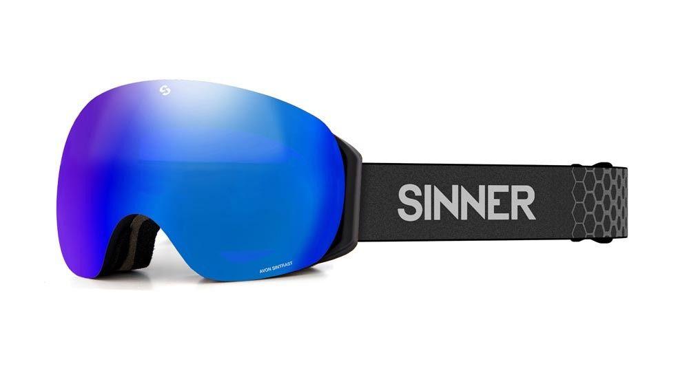 Sinner Skibril Avon met extra lens