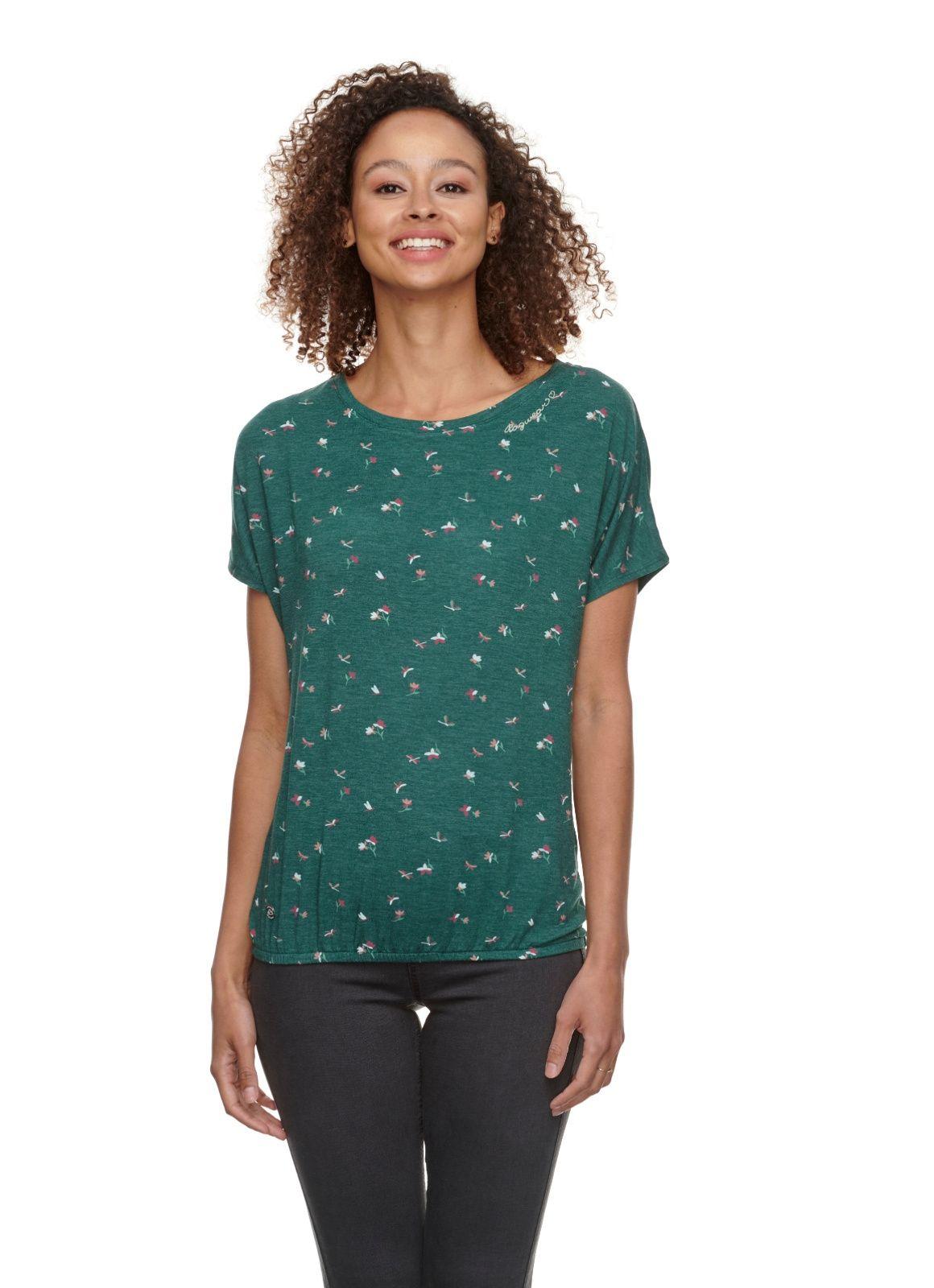 Ragwear dames t-shirt Pecori print