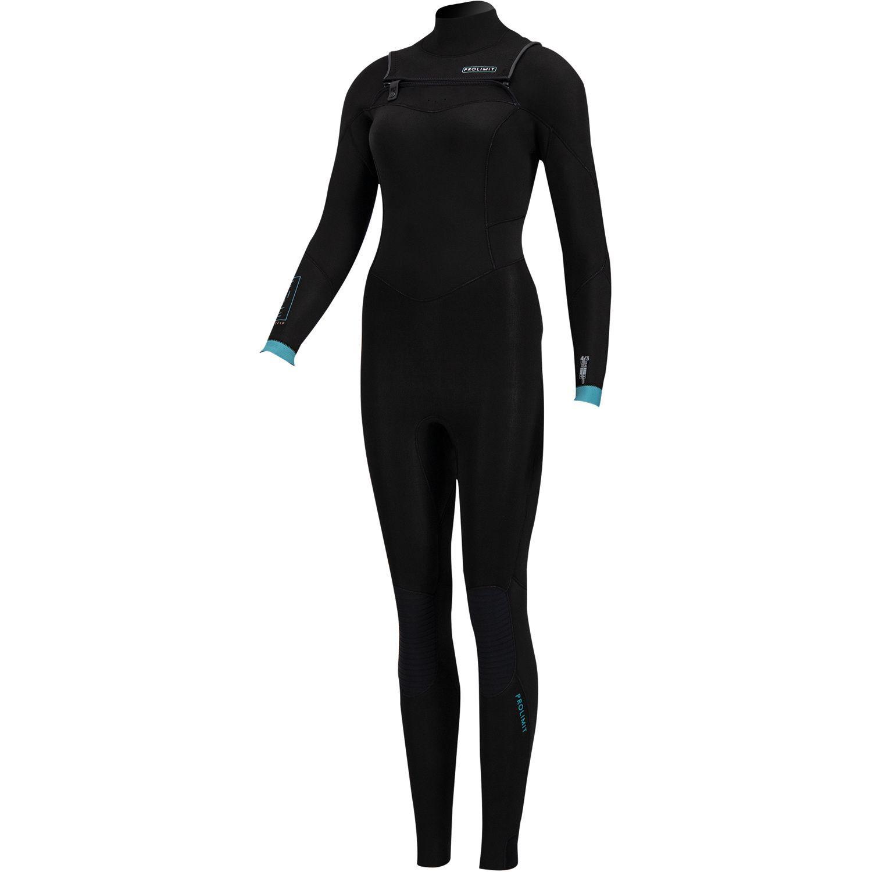 Prolimit dames wetsuit PG Fire 4/3 front zip