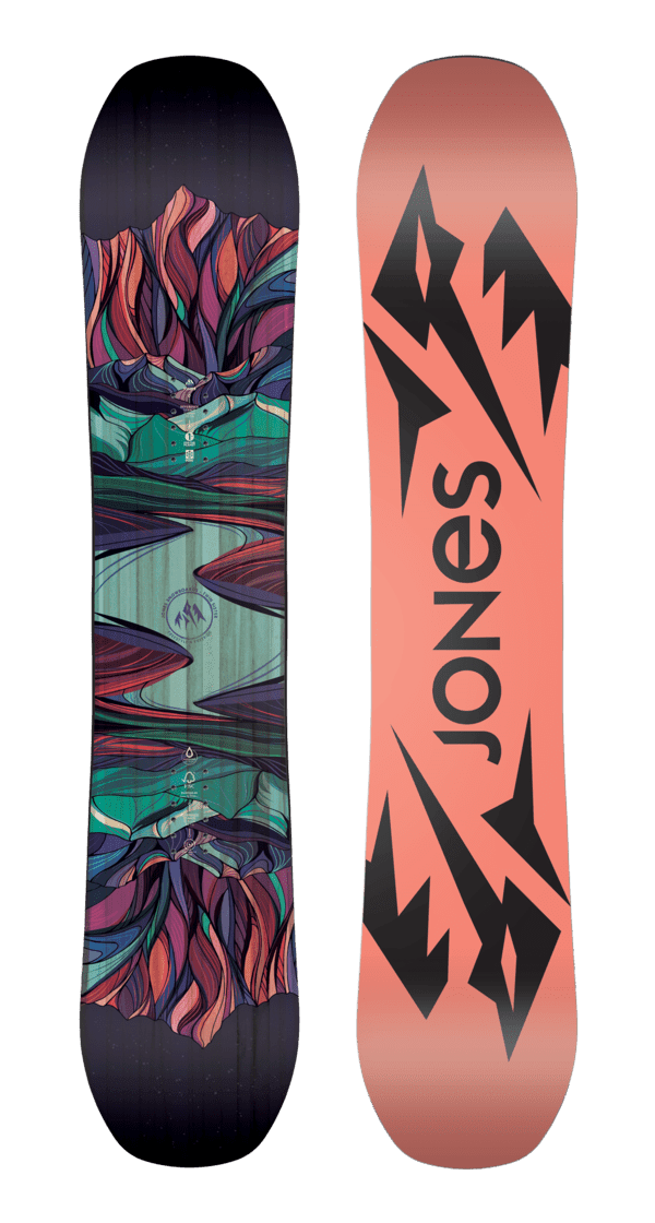 Jones dames snowboard Twin Sister 2020
