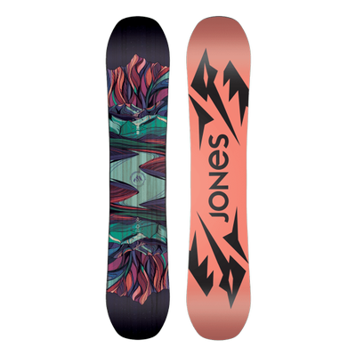 Foto van Jones dames snowboard Twin Sister 2020