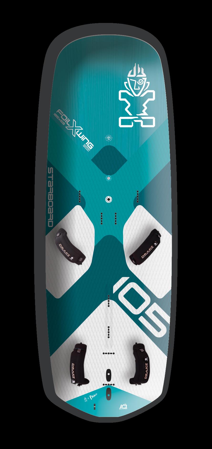 Starboard Foil X Wing Board Wood Sandwich 2021
