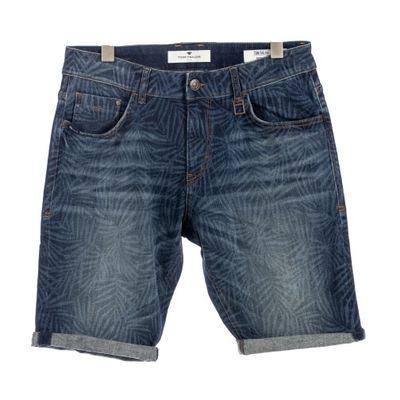 Tom Tailor heren jeans korte broek Print