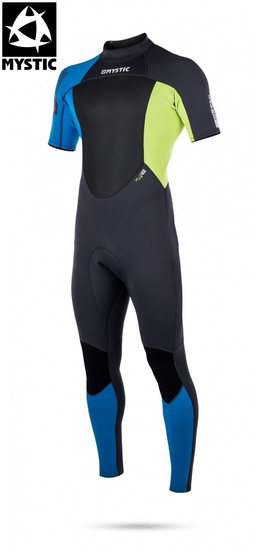 Mystic heren wetsuit Star short arm 3/2 back-zip