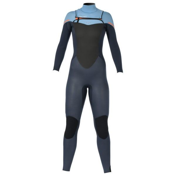 Prolimit dames wetsuit front zip Fire 4/3 mm.