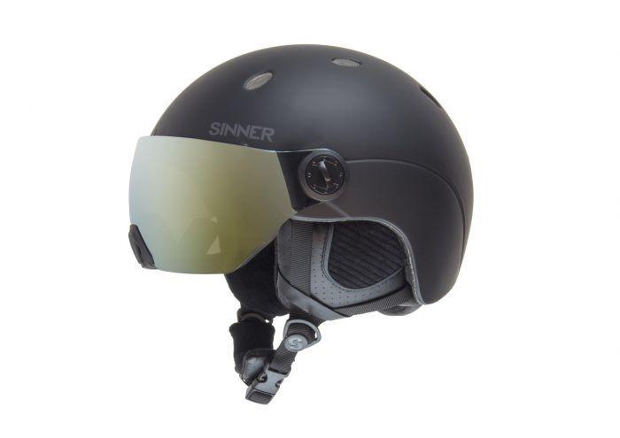 Sinner Ski/snowboard helm Titan met Visor
