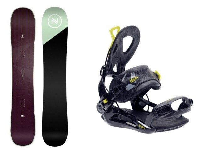Complete Snowboard set Nidecker Venus+SP Private 2020
