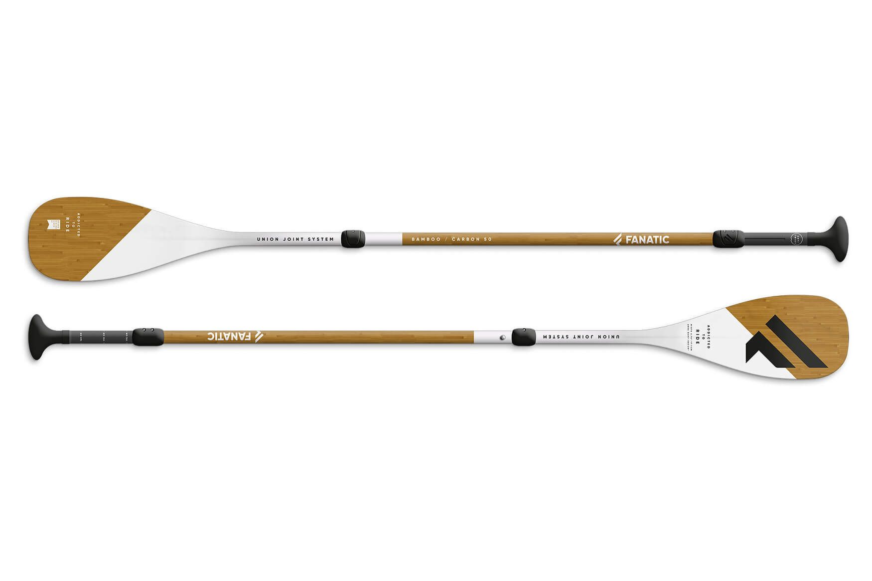 Fanatic Sup Bamboo carbon 50 driedelige peddel (B keus )