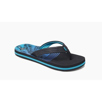 Reef kids slipper Ahi Aqua Palms