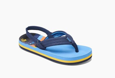 Foto van Reef jongens slipper Ahi blue hawai