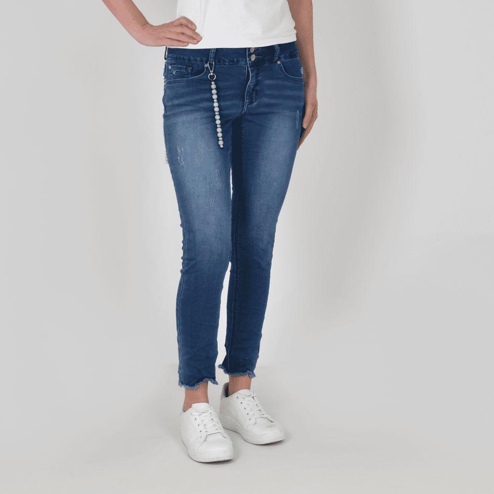 Buena Vista dames jeans Tummyless 7/8