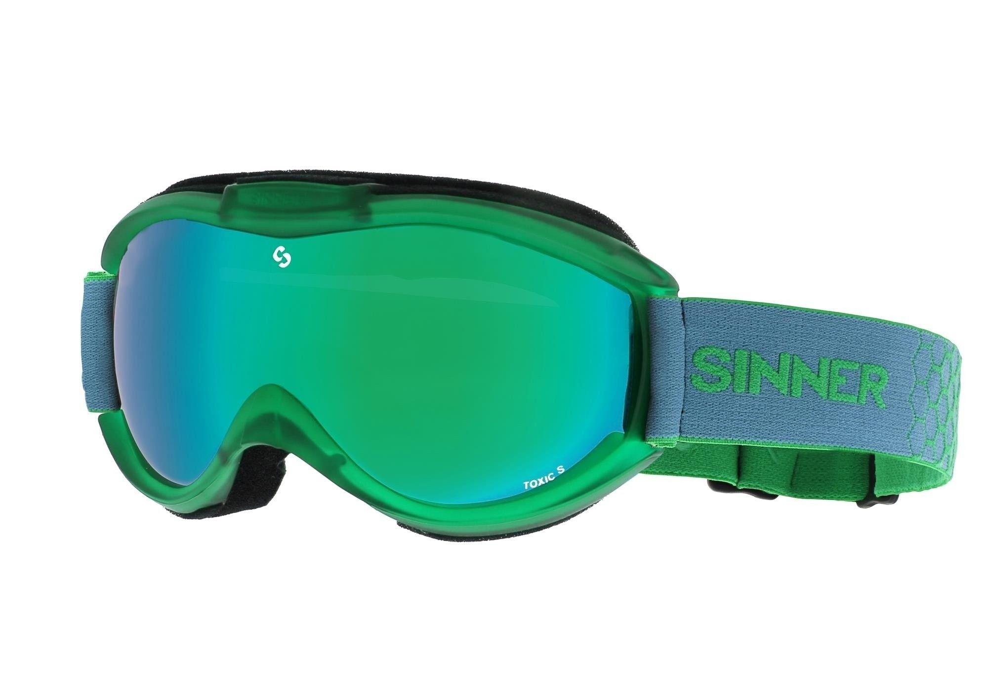 Wintersport skibril Dames/kinderen Toxic S