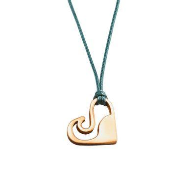 Foto van Zilveren Love Wave armband/halsketting