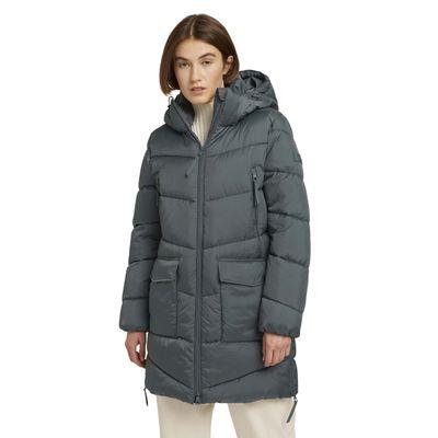 Foto van Tom Tailor dames gewatterde jas