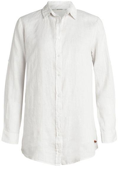 Foto van Moscow dames Button linnen blouse
