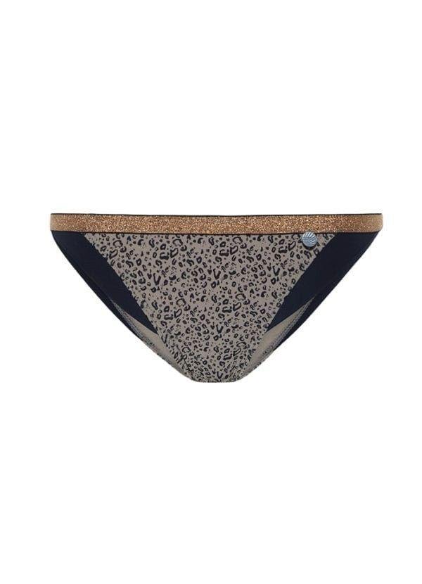 Beachlife Cheetah colorblock bikinibroekje