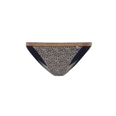 Beachlife Cheetah colorblock bikinibroekje