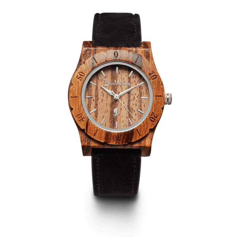 Burnwoods horloge Venus Zebra
