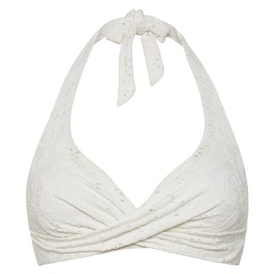 Foto van Beachlife Blanc de Blanc halter bikinitop