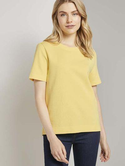 Foto van TomTailor dames t-shirt jersey