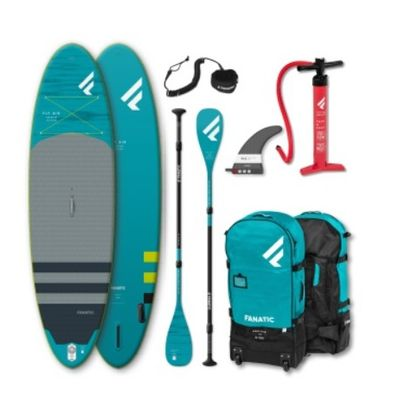 Foto van Fanatic Wind/Sup Fly Air Inflatable Premium met C35 peddel