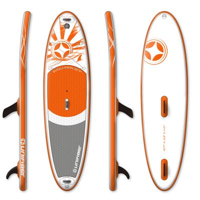 Foto van Unifiber Inflatable windsurf sup 10.7