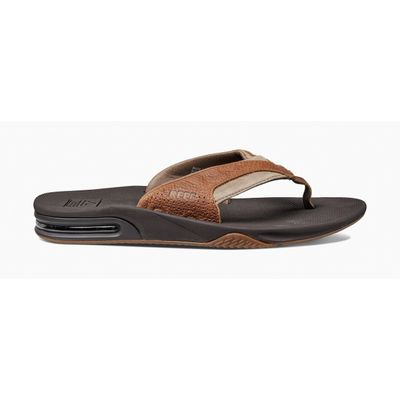 Reef heren slipper Leather Fanning