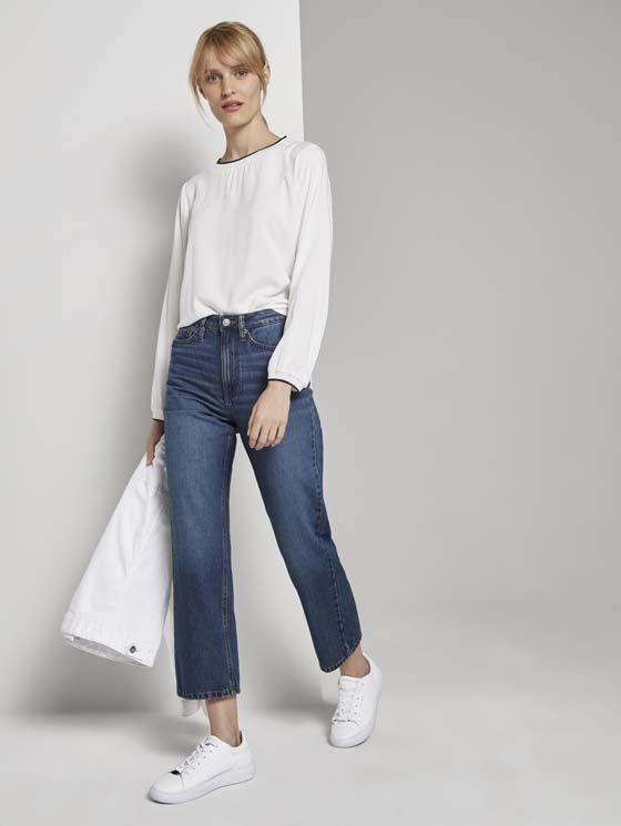 Tom Tailor dames basis blouse