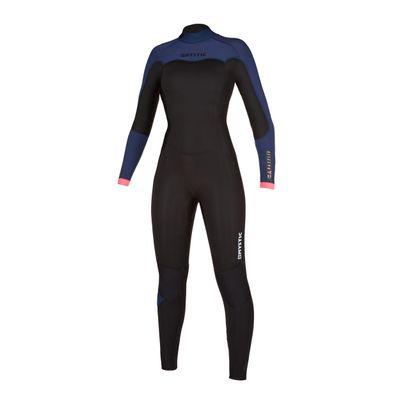 Foto van Mystic dames wetsuit Dazzled back zipp 5/3
