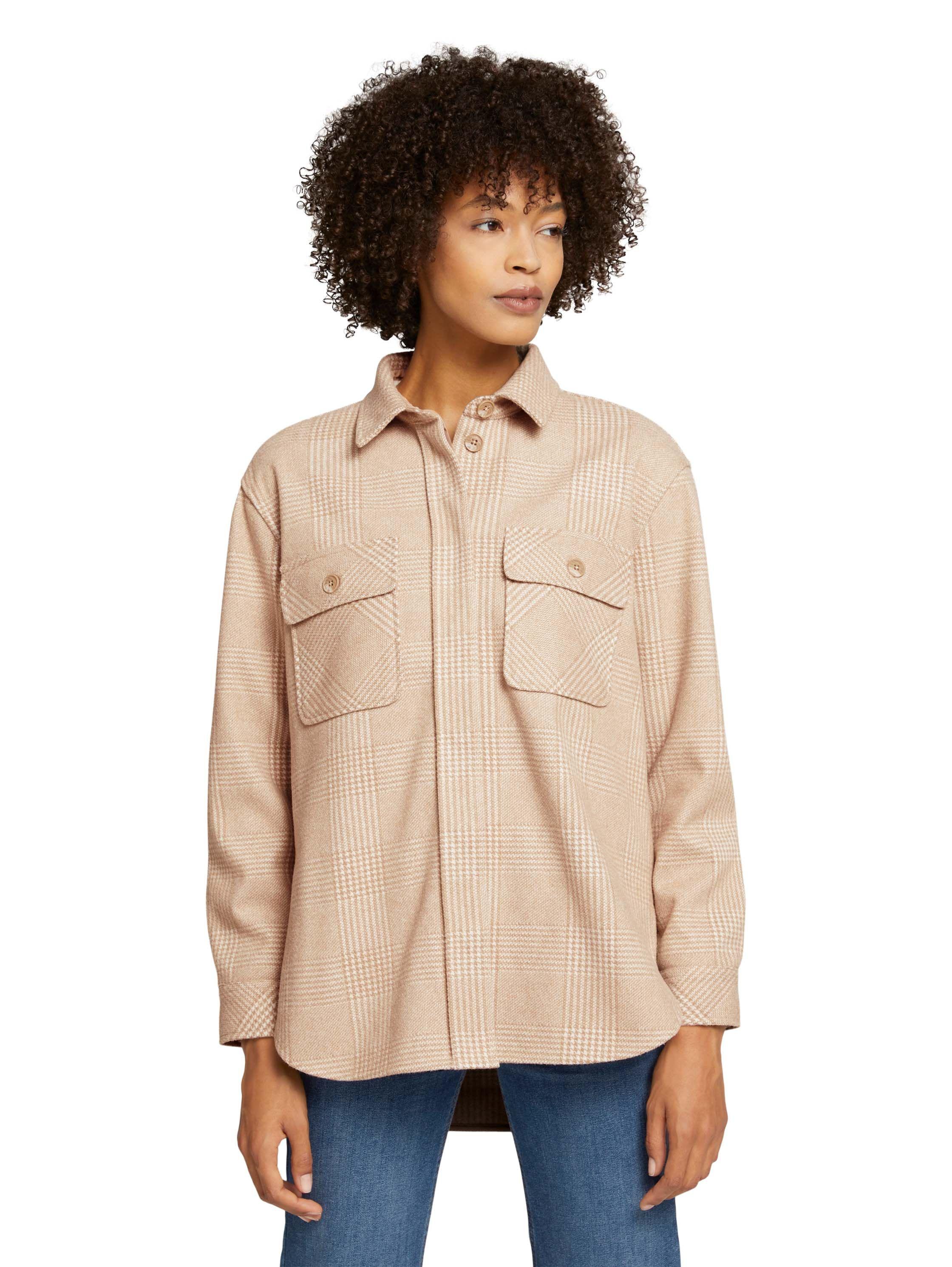 Tom Tailor dames geruit overhemd