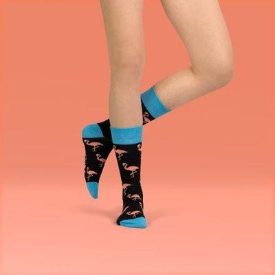 Foto van Unabux sokken Flamingo