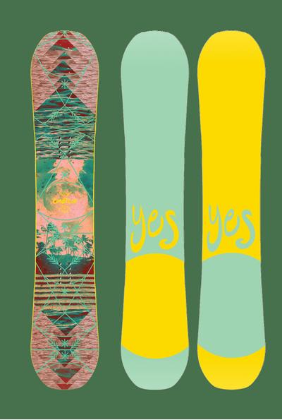 Foto van Yes dames snowboard Emoticon 2020