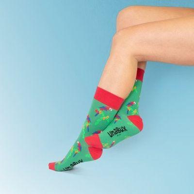 Unabux sokken Papegaai