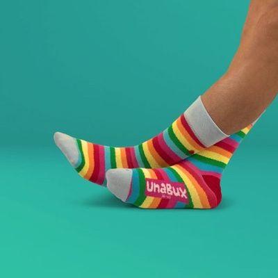 Foto van Unabux sokken Rainbow