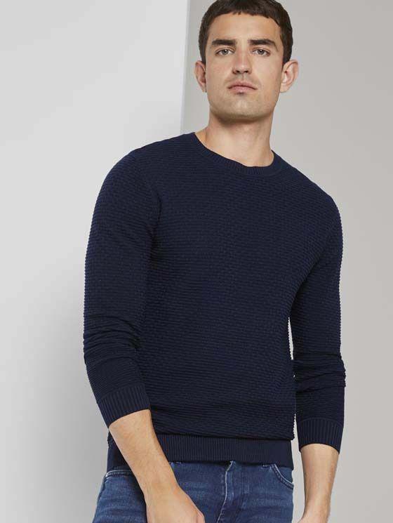 Tom Tailor heren gebreide trui