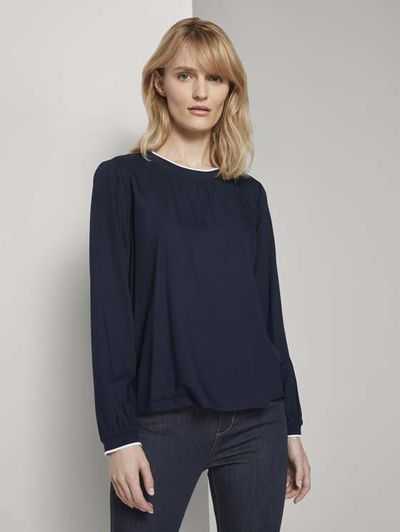 Foto van Tom Tailor dames basis blouse