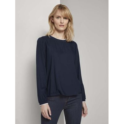 Foto van Tom Tailor dames basis blouse