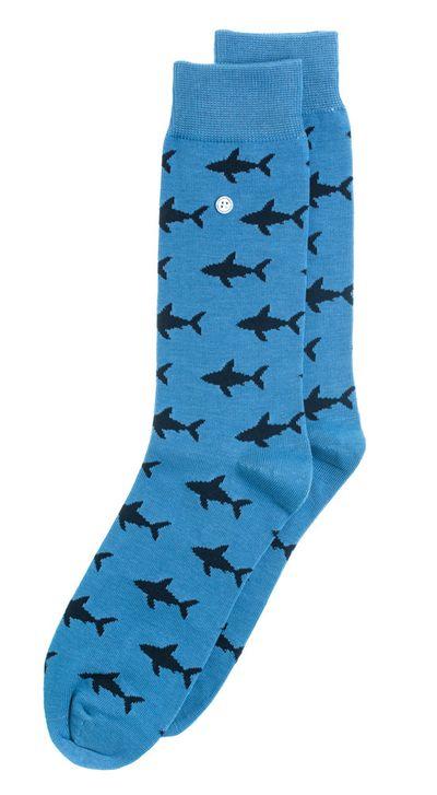 Foto van Alfredo Gonzales sokken Shark Attack