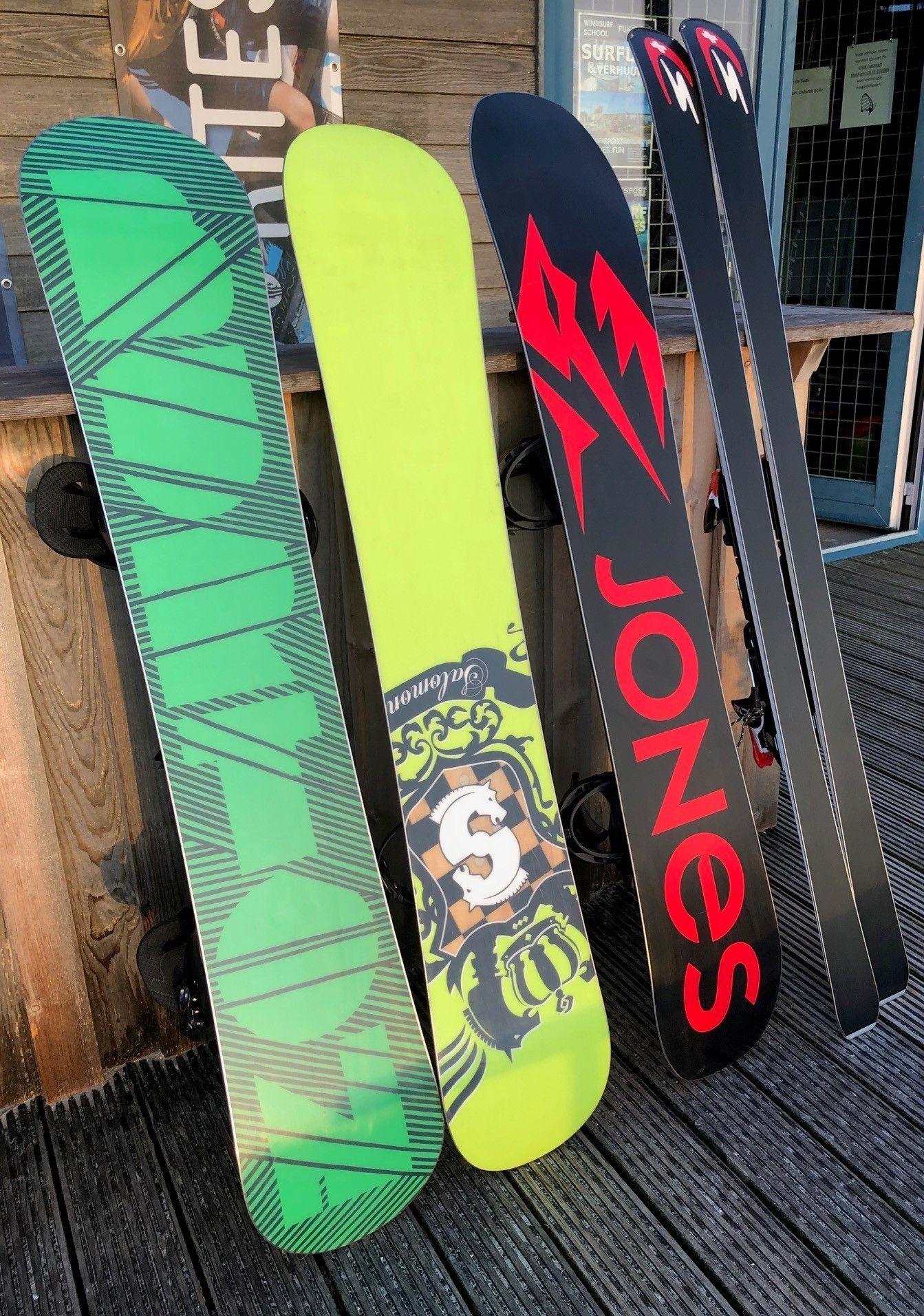 Waxen Slijpen Snowboard en Ski's