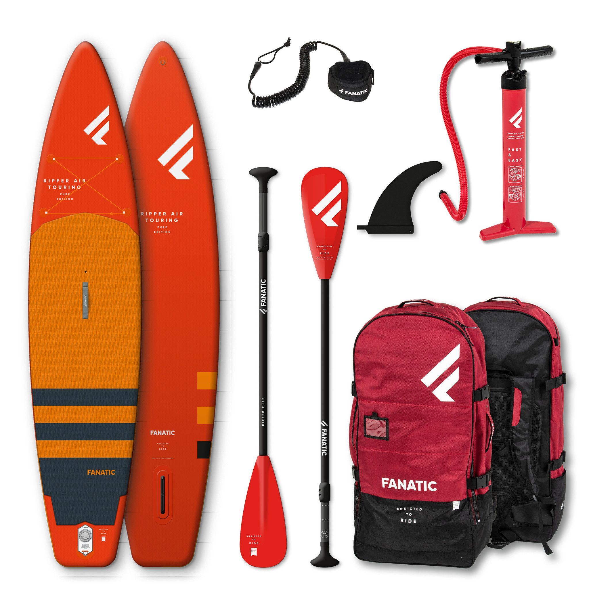 Fanatic Sup Package Ripper Air Touring