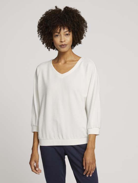 TomTailor Loose Fit-shirt met structuur
