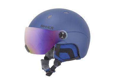 Foto van Sinner ski snowboardhelm Titan met Vizier